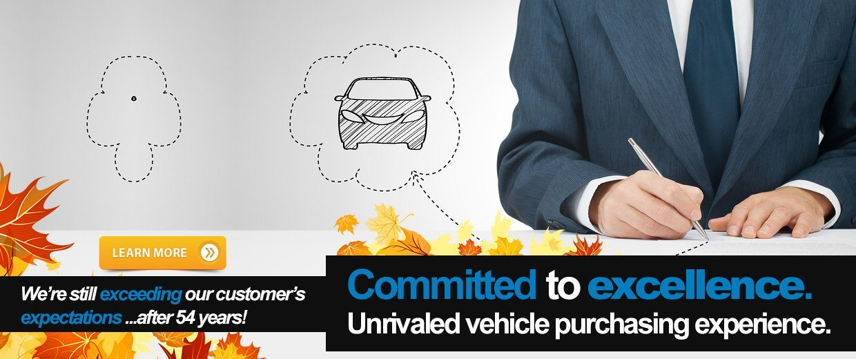 Committed to excellence. Unrivaled vehicle purchasing experience.
