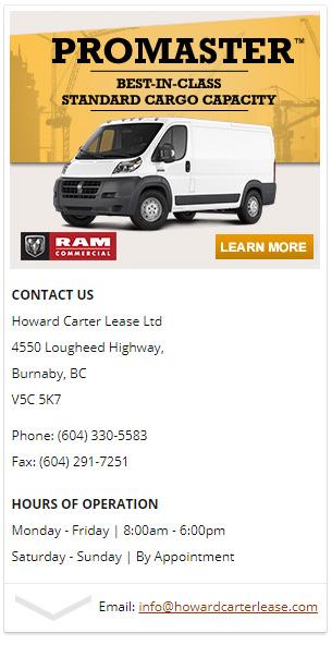 end of vehicle lease options howard carter lease burnaby. Black Bedroom Furniture Sets. Home Design Ideas